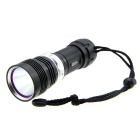 POP Lite Cree XM-L T6 5-Mode 800LM White Diving Flashlight - Black (1 x 32650)