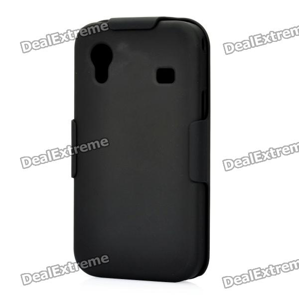 Protective ABS Back Case w/ Clip Sliding Closure for Samsung Galaxy ACE / S5830 - Black водяное охлаждение deepcool maelstrom 120t socket 1150 1155 1156 1366 2011 2011 3 am2 am2 am3 am3 fm1 fm2 fm2