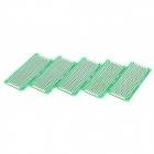 Double-Sided Glass Fiber Prototyping PCB Universal Board (3 x 7 / 5-Piece Pack)