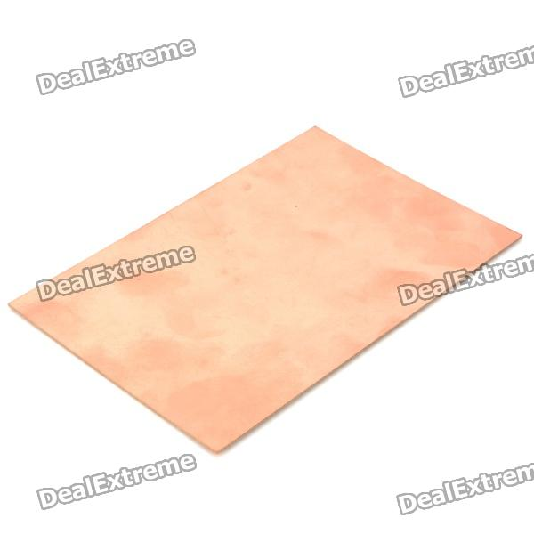 Universal Single Sided PCB Copper Clad Board for DIY (18 x 12cm) universal diy single sided bakelite plate board brown