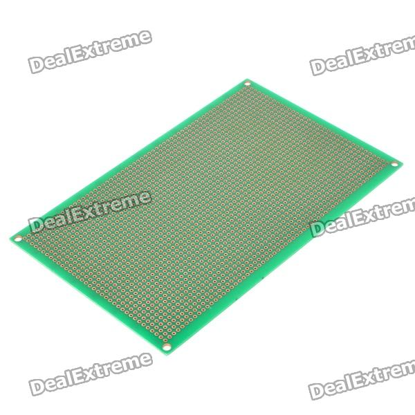 Double-Sided Glass Fiber Prototyping PCB Universal Board (10 x 16) double sided glass fiber prototyping pcb universal board 5 pack