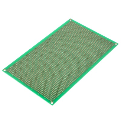 Double-Sided Glass Fiber Prototyping PCB Universal Board (10*16cm)