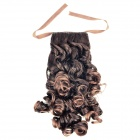Fashion Long Curly Pony Tail Hairpiece Wigs - Brown