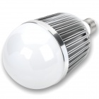 E27 15W 1150lm 3000K ~ 3500K Warm White 15-LED Light Bulb - Silber + Weiß (220)