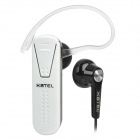 KBTEL K1 Bluetooth V2.1+EDR Handsfree Headset - White + Black