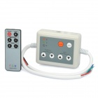 21-Mode 3-CH RGB LED Strip Dimmer w/ Remote Control - Grey (DC 12~24V)