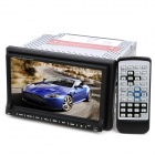 "BL-715 7,0 ""Touch-Screen-Auto DVD-Player w / Bluetooth / FM / AM / Analog-TV - Schwarz + Silber Gra"