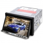 "BL-710 7.0"" Touch Screen Car DVD Player w/GPS / Bluetooth / FM / AM / Analog TV / USB / Dual SD Slot"