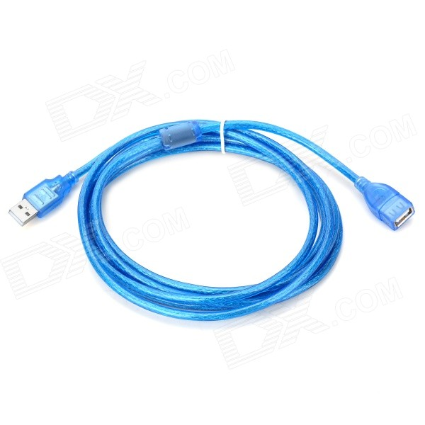 USB 2.0 Male to Female Extension Cable - Blue (300cm)