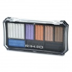 Fashion Magic Cosmetic Makeup 7-Color Eye Shadow with Smudger