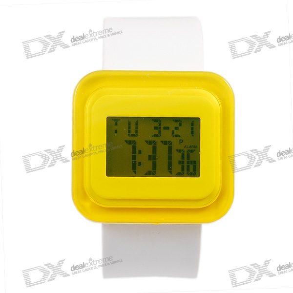 Trendy Fashion Digital Watch (Random Color)