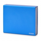 External 6600mAh Emergency Power Charger w/ Dual USB / 6 Adapters for iPhone / Cell Phone - Blue