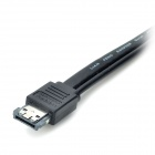 "eSATA Male to eSATA Male + Mini USB male Data / Power Cable for 2.5"" eSATA HDD - Black (100cm)"