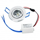1W 2700K 90-1-Lumen LED Warm White Light Decke bis Lampe w / Driver (AC 220-240V)