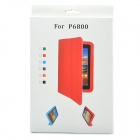 Protective PU Leather Case for Samsung Galaxy P6210 / P6200 - Orange