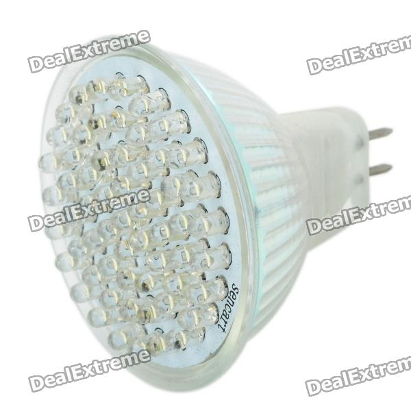 GU5.3 3.5W 6500K 420-Lumen 60-LED White Light Bulb (12V)