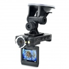"2.0"" 180 Degree Swivel Car DVR 1080P Night Vision/Motion Detection/Circulating Recording"