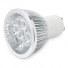 GU10 4W 3500K 360-Lumen 4-LED Warm White Light Bulb (AC 85~265V)