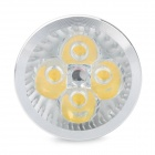 GU10 4W 360-Lumen 3500K Warm White Light 4-LED Cup Bulb (AC 85~265V)