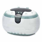 Multi-Function 50W Ultrasonic Cleaner - White (600ml / AC 250V / EU Plug)