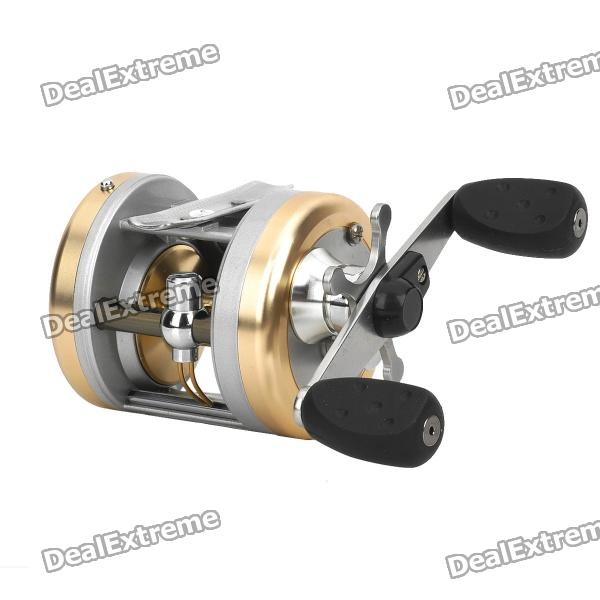 HAIBO ANOMALA 3-Bearing Bait Caster Fishing Reel - Silver + Champagne (5.5 : 1) haibo overlord super light carbon fiber handle baitcasting fishing reel 5 4 1 8bb 1rb saltwater freshwater magnetic brake system