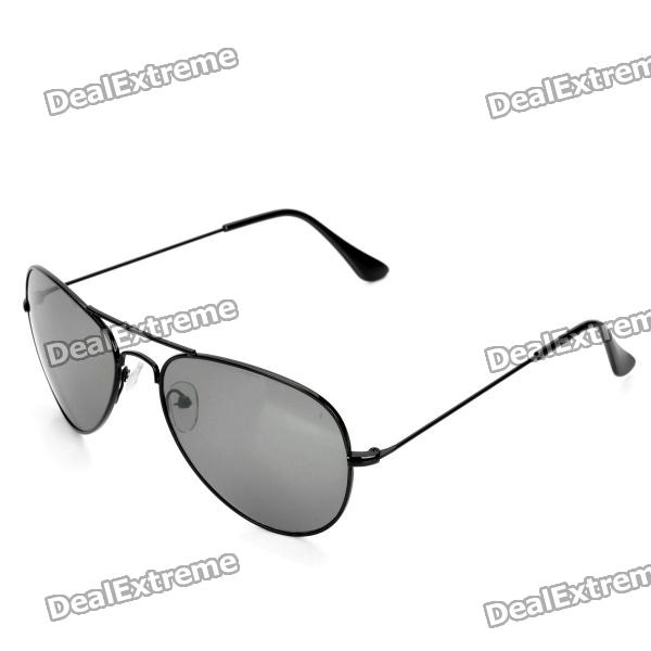 Classic UV400 Protection Sunglasses - BlackSunglasses<br>Frame ColorBlackLens ColorBlackPacking List<br>