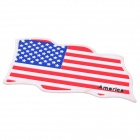 US National Flag Style Vehicle Car Silicone Anti-Slip Mat Pad - Red + White + Blue