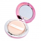M.rui Cosmetic Makeup Powder w/ Puff / Mirror - Natural Color