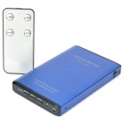 1080P Full HD 2D to 3D Video Converter w/ HDMI / Glasses - Blue