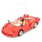 Cool Chi 1:43 27MHz iOS/Android Remote Controlled Alloy Ferrari Car Model - Red