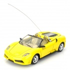 Cool Chi 1:43 40MHz iOS/Android Remote Controlled Alloy Car Model - Yellow