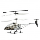 iOS/Android Controlled Rechargeable RC Helicopter (White + Black)