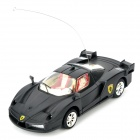 Cool Chi iOS/Android Remote Controlled 2-CH Racing Car - Black
