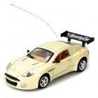 Cool Chi 1:43 27MHz iOS/Android Remote Controlled Alloy Car Model - Beige
