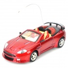 Cool Chi 1:43 27MHz iOS/Android Remote Controlled Alloy Car Model - Red