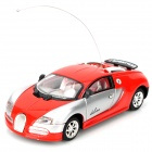 Cool Chi 1:43 40MHz iOS/Android Remote Controlled Alloy Car Model - Red + Silver