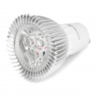 UltraFire GU10 3W 3-LED 340~350LM 3000~3500K Warm White Light Spotlight (85~265V)