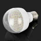 E27 3.5W 290LM 3000~3500K 58-LED Warm White Light Lamp Bulb (220V)