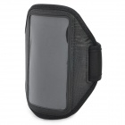 Sports Gym Arm Band Case for HTC One X - Black (45cm-Full Length)