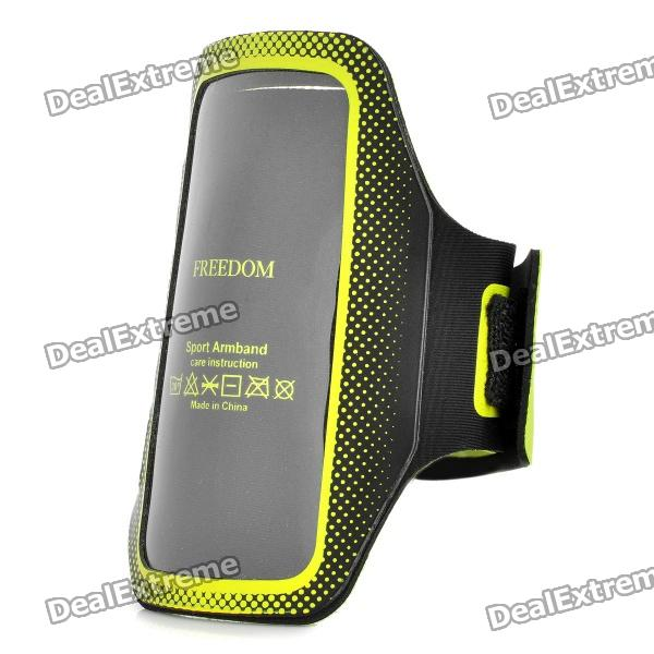 Trendy Sports Armband for Iphone 4 / 4S / Touch 4 - Green