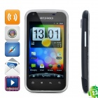 "G21 Android 2.3 WCDMA Smart Phone w/4.3"" Capacitive, Dual SIM, Wi-Fi and GPS - Black"