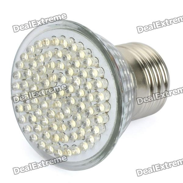 E27 4.9W 6000~6500K 486~560LM 81-LED White Light Spot Lamp Bulb (AC 85~265V) high quality 9w epistar led spot bulb e27 base par38 led light 900lm white ac85 265v ce