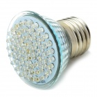E27 3.5W 6500K 420-Lumen 60-LED White Light Bulb (AC 85~265V)