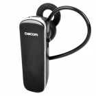 Dacon K69 Detachable Bluetooth V3.0+A2DP Music Stereo Headset - Black