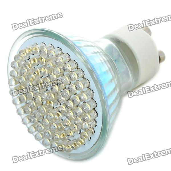 GU10 4.9W 3500K 560-Lumen 81-LED Warm White Light Bulb (AC 85~265V)