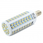 E14 7.5W 3500K 560-Lumen 112-3528 SMD LED Warm White Bulb (AC 220~240V)