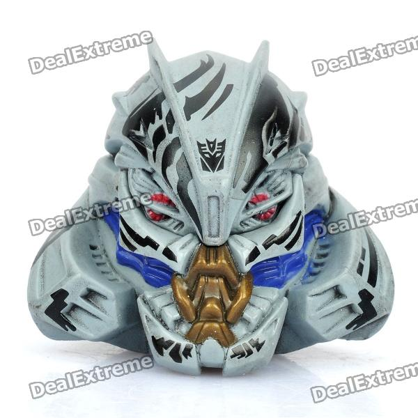 Cool Transformers Style Fridge Magnet - Grey + Blue + Black (Decepticons)