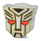 Cool Transformers Style Fridge Magnet - Grey + Blue + Black (Autobots)