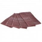 3M Nylon Industrial Cleaning Cloth - Deep Brown (5-Piece Pack)