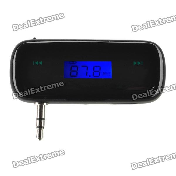 0.7 LCD Handsfree FM Transmitter for Iphone 4 / Iphone 4S